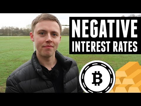 Why Negative Interest Rates Are Even Better for Bitcoin Than Gold