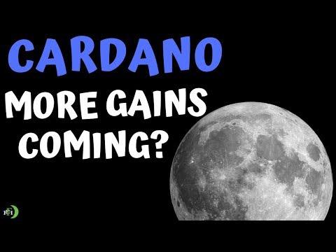 CARDANO (ADA)   MORE GAINS TO COME?