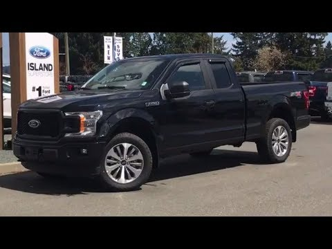 2018 Ford F-150 STX Sport V8 Supercab Review  Island Ford