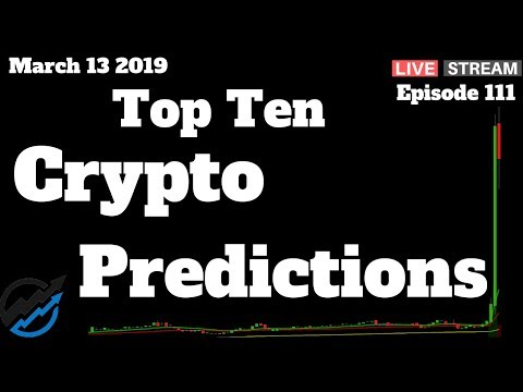 Top 10 Proven Cryptocurrency Predictions | Bull Market Watch | March 13 2019