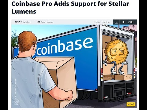 Stellar Lumens (XLM) Added to Coinbase Pro