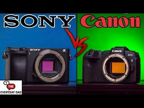 Sony A6400 VS Canon EOS RP!  4K APSC VS 1080p Full Frame!