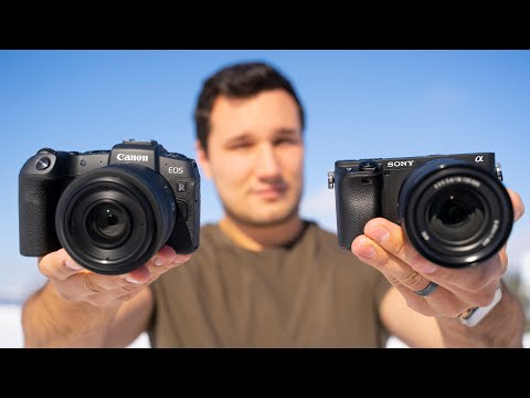 A6400 vs EOS RP – Detailed Comparison for Video Shooters!