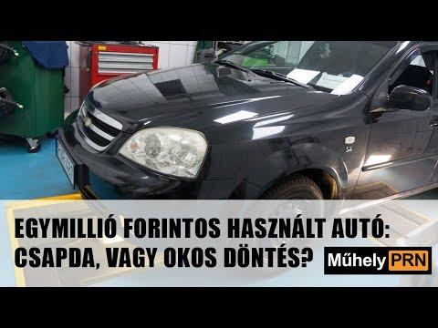 MűhelyPRN 6.: Egymillió forintos használt autó: csapda, vagy okos döntés?