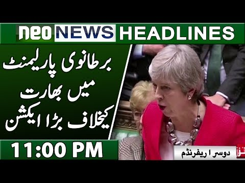 US Parliment Take Big Action Against India | Neo News Headlines | 11:00 PM | Neo News