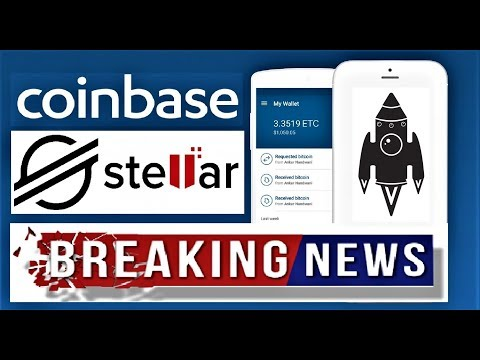 STELLAR XLM BREAKING NEWS: COINBASE