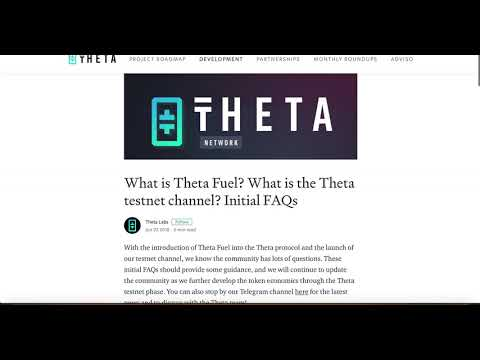 Ethereum Dump ? Theta Mainnet Launch Earn Theta Fuel, EOS Airdrops Player One