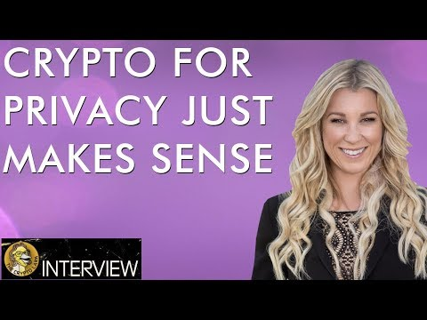 Super Private Messaging with Crypto – Sense Chat on EOS – Crystal Rose Interview