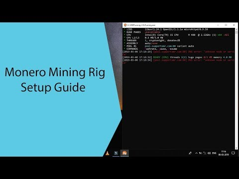 Monero Mining Guide [ Windows ][ Xmrig ][ SupportXmr ][ Mymonero ]