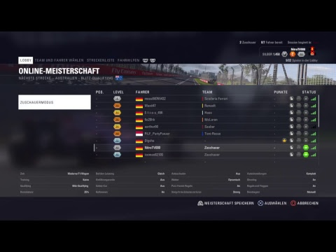 [GER] F1 2018 | VRC Testrennen [PS4] Heat Races Tag 4