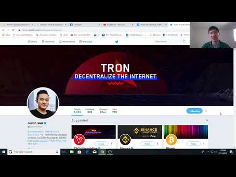 TRON's(TRX) Justin sun to give away $20 million Airdrop and a Free Tesla, get yours today!