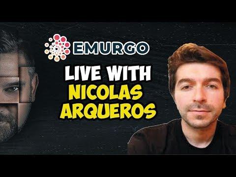 Live With EMURGO Nicolas Arqueros – A Global Cardano ADA