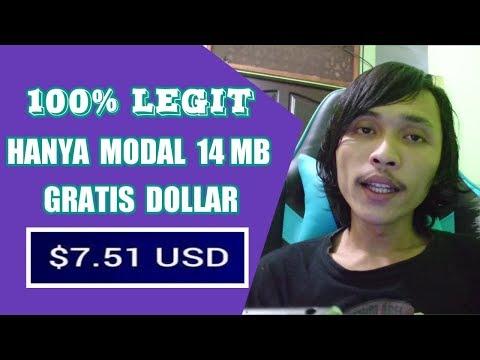 Gratis $7.5 / 107RB Cuma Modal 17 MB | GIVEAWAY 1500 DOGE