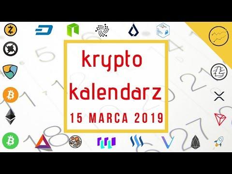 Krypto Kalendarz – 15.03.2019 – IOTA, Lisk, Tron, Cardano, QLink