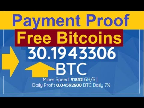 NEW FREE BITCOIN CLOUD MINING SITE 2019 | Live Payment Proof 0.2000000 Bitcoin