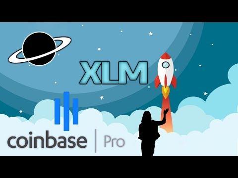 ✅Stellar XLM en Coinbase Pro + Nuevo Logo