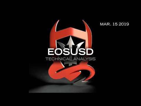 """EOS Technical Analysis (EOS) : Sensei Tutum with a look at EOS vs BTC & USD  [3.15.19]"
