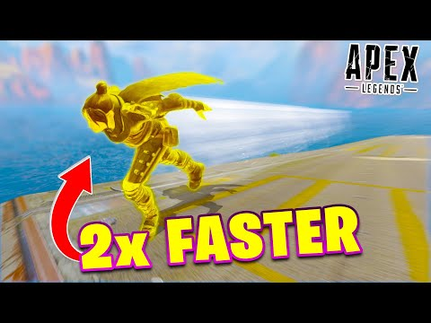 *NEW* SPEED TRICK RUN 2X FASTER! Apex Legends Funny Fails & Epic Moments #25