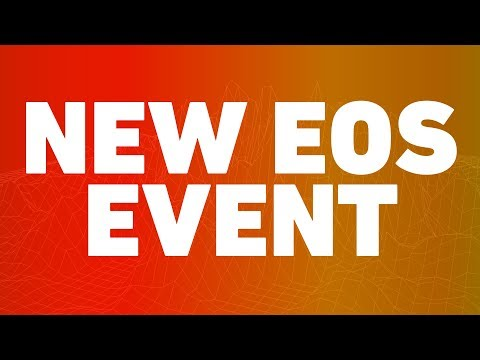 EOS EVENT ALERT: SVK Crypto Event on March 26th in London