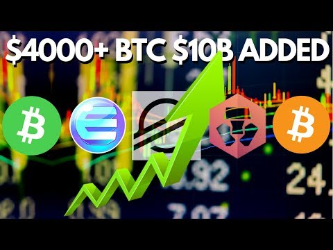 Has The Journey To BTC Highs Begun? Bitcoin, Bitcoin Cash, Crypto.Com, Enjin and Stellar Lumens