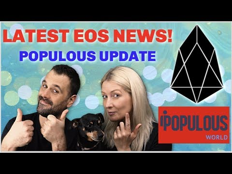 Latest EOS news,   Populous update, Altcoin season coming?