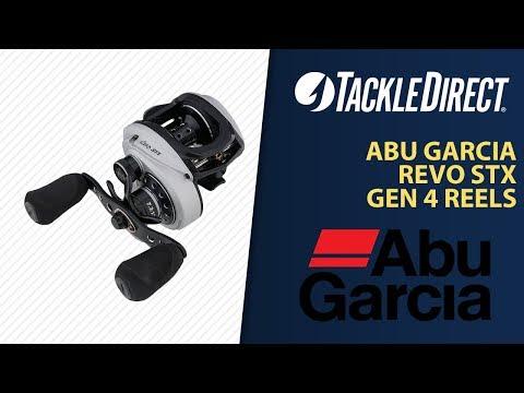 Abu Garcia Revo STX Generation 4 Baitcasting Reels at TackleDirect