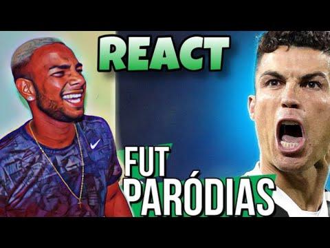 REACT FUT PARODIAS –  3X0 | CRISTIANO RONALDO ACABA COM O ATLÉTICO | Chandelier   Sia