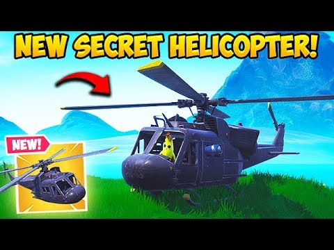 *NEW* SECRET HELICOPTER FOUND! – Fortnite Funny Fails and WTF Moments! #499