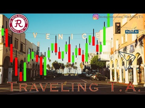 TRX : Traveling T.A. Los Angeles – Will Tron Coin Rise?! Episode 401 – Crypto Technical Analysis