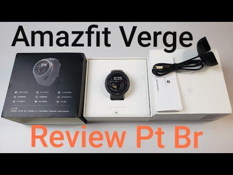 Amazfit Verge Review Pt Br