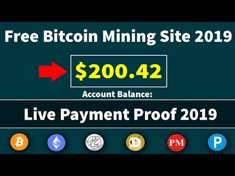New Free Bitcoin Mining Site Live Withdrawal Payment Proof 2019