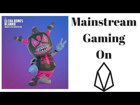 Mainstream Adoption Through Gaming – EOS Game Blankos