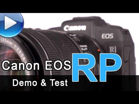 Canon EOS RP – Demo & Test