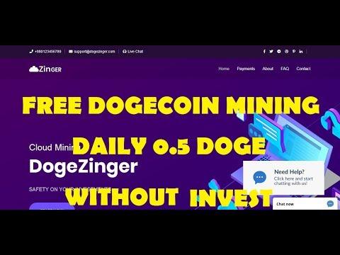 dogezinger FREE DOGECOIN MINING |DAILY 0.5 DOGE MINING| tamil kathambam