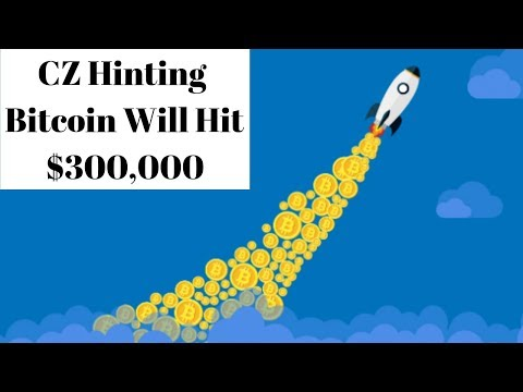 CZ Binance Hinting Bitcoin Will Hit $300,000