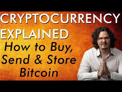 How to Buy, Send, & Store Bitcoin Tutorial + Get FREE Crypto – Cryptocurrency Explained Free Course
