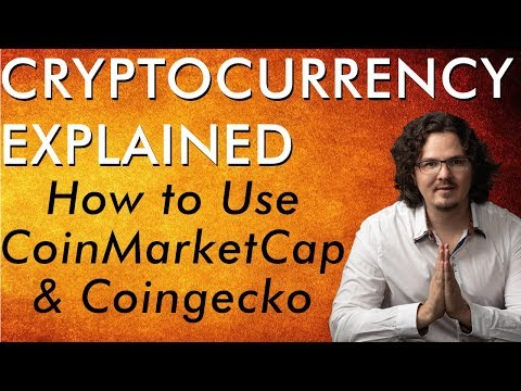 Important Research Tools CoinMarketCap & Coingecko – Bitcoin Cryptocurrency Explained – Free Course