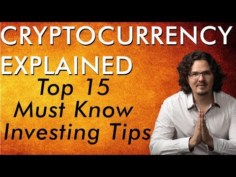 Top 15 Must Know Crypto & Bitcoin Investing Tips – Cryptocurrency Explained – Free Course