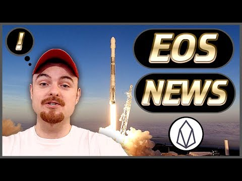 EOS Weekly News Updates – New Project Launches – Major EOS Updates – New Airdrops & More