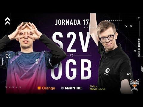 S2V ESPORTS VS ORIGEN BCN | Superliga Orange League of Legends | Jornada 17 | Temporada 2019