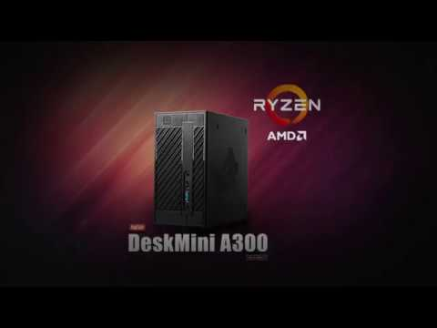 ASRock DeskMini A300—World's First AMD Mini STX solution