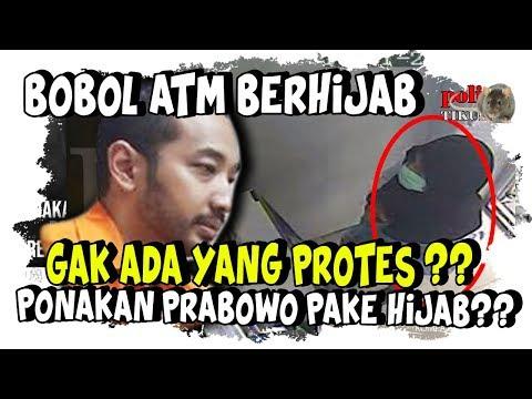 Ponakan Laki-Laki Prabowo Bobo l ATM Pakai Hij4b, Nggak Ada yang Prot3s ?
