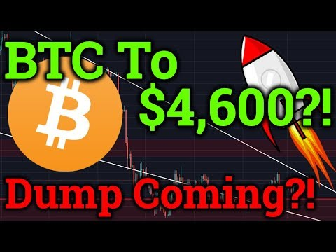 BTC Breaks $4,000! $4,600 Next Or Dump Coming?! Cardano ADA News! Bitcoin/Cryptocurrency Trading!