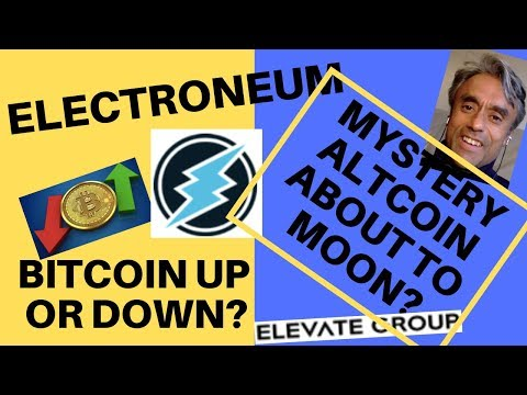 Electroneum Market Making? + Will This Alt Coin Rise? + Plus BTC price