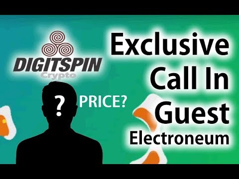 Exclusive Electroneum Coin Call in: British Guest talks Price. Don't Miss! Bitcoin CryptoMeme