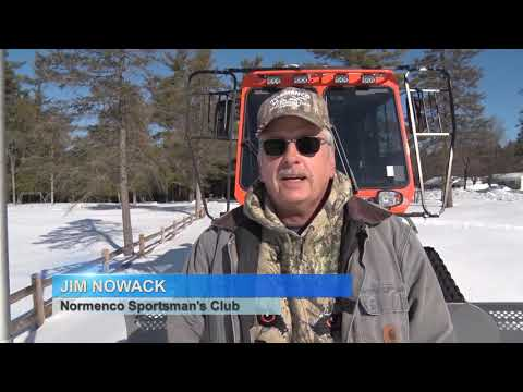 Discovering – Snowmobile Trail Grooming, DCN Trails ski snowshoe race
