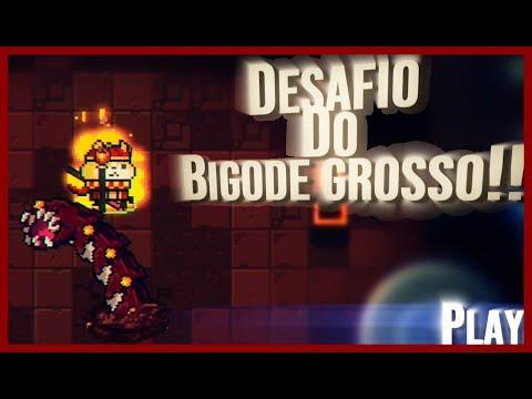 Soul Knight | Desafio do doge grosso jogando de dogleiro miner !!!