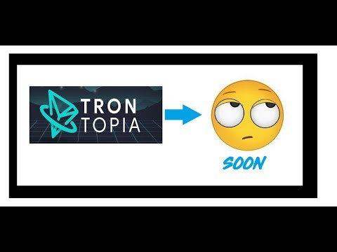 VLOG #39 – Trontopia Fails to Launch – Big Digibyte Green Candle