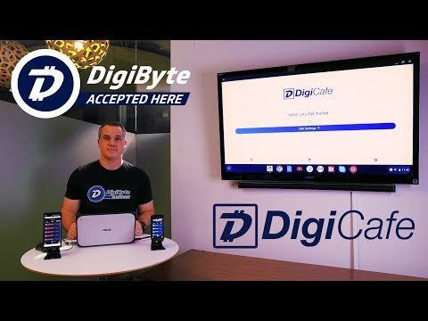 DigiCafe – Now Serving You! Point of Sale App for The DigiByte Blockchain