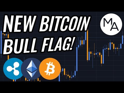 NEW Bull Flag In Bitcoin & Crypto Markets! BTC, ETH, XRP, Cryptocurrency & Stocks News!